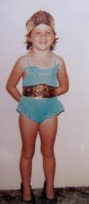 Me as Wonder Woman aged 4